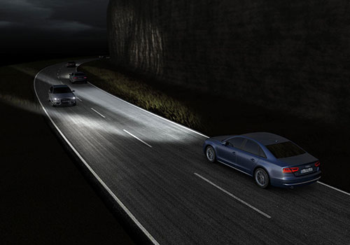 luces inteligentes Audi Matrix LED