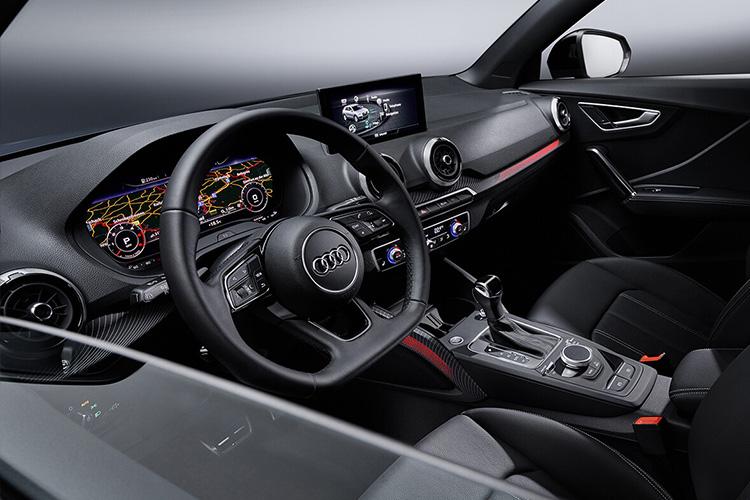Audi Q2 2021 variantes en México sistema de infoentretenimiento