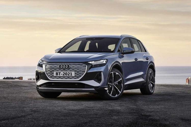 Audi Q4 e-tron totalmente eléctrico carrocería