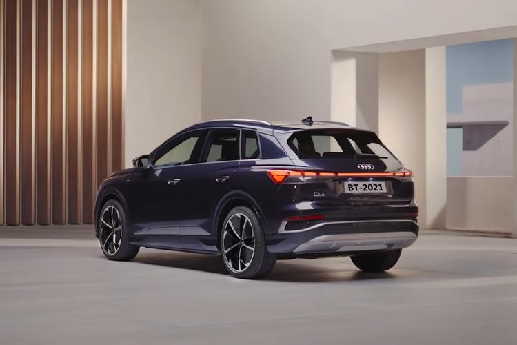 Audi Q4 e-tron totalmente eléctrico desempeño tecnologia