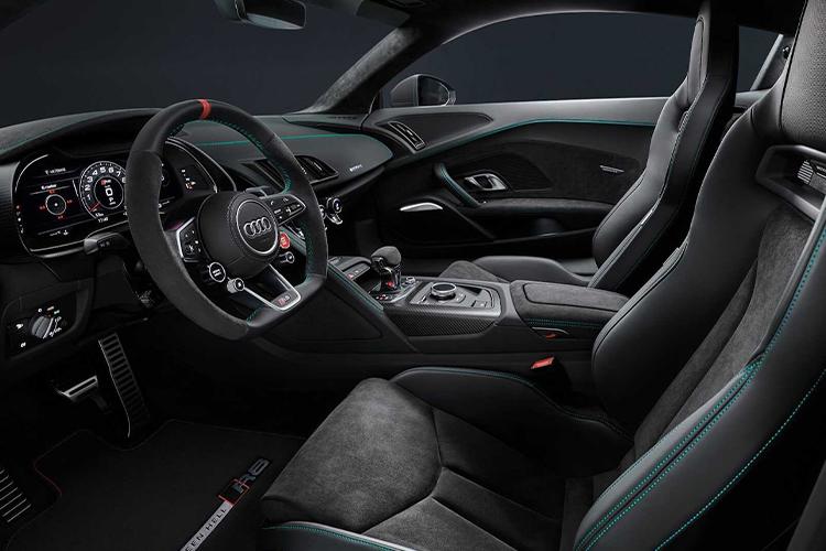 Audi R8 Green Hell Edition acabado interior exclusivo