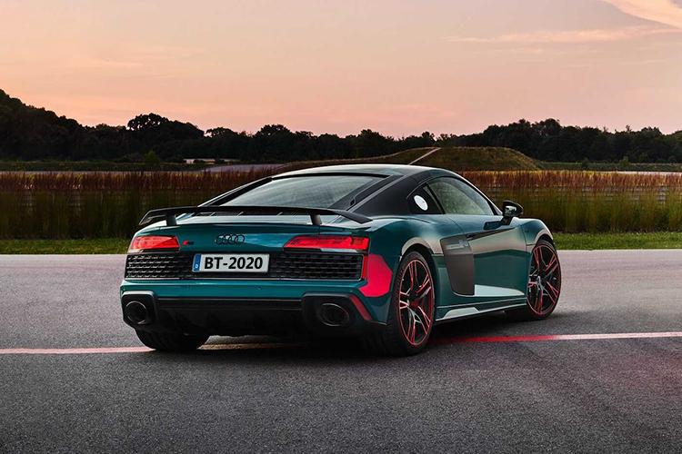 Audi R8 Green Hell Edition celebra 5 victorias del Audi R8 LMS
