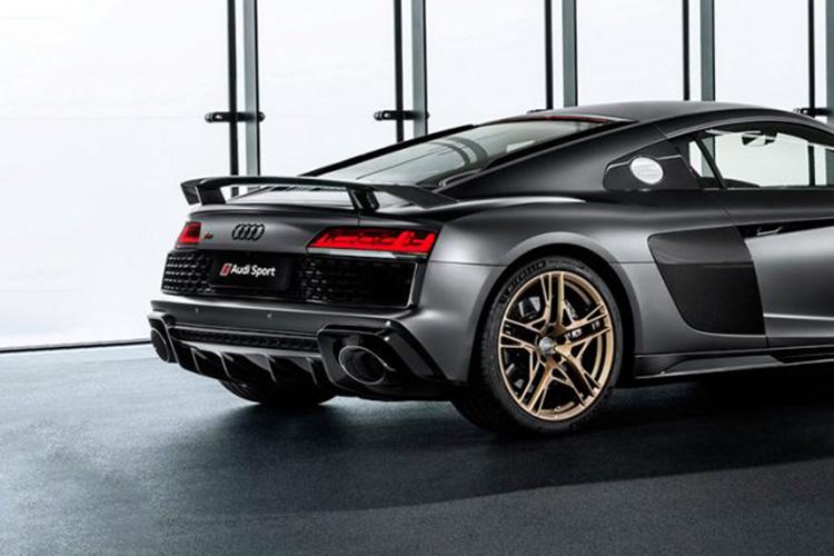 Audi R8 V10 Decennium tecnologia