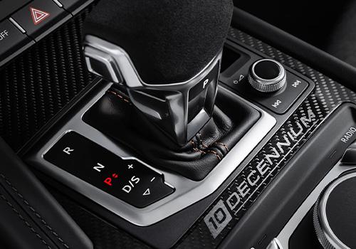 Audi R8 V10 Decennium transmision automatica