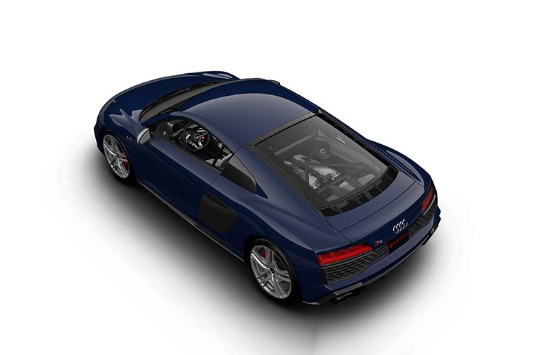 Audi R8 V10 Limited Edition carrocería coupé y spyder descapotable