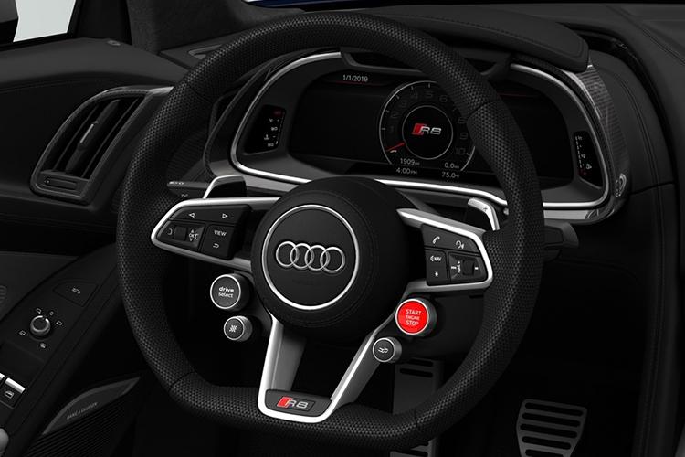 Audi R8 V10 Limited Edition volante multifunción