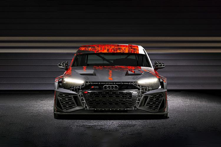 Audi RS 3 LMS coche de competición diseño innovaciones potencia modelo
