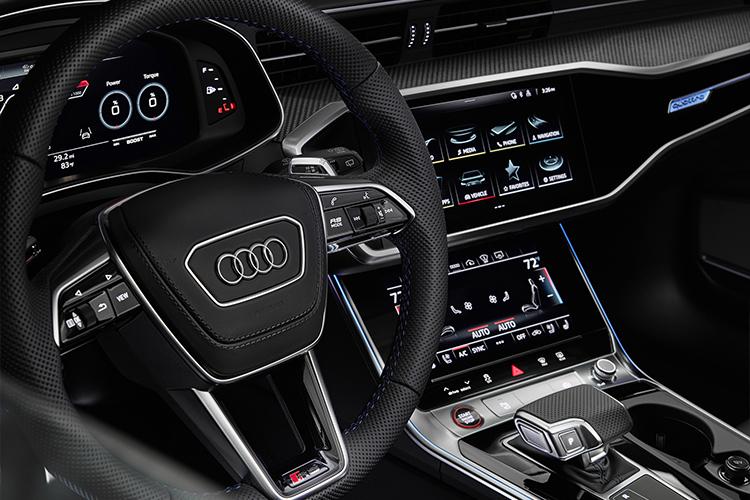 Audi RS 6 Avant Tribute Edition sistema de infoentretenimiento