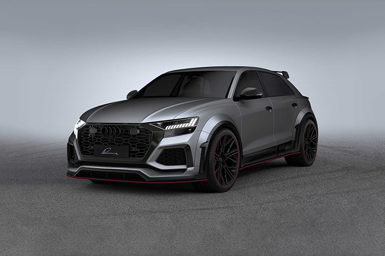 Audi RS Q8 by Lumma Design mas agresivo