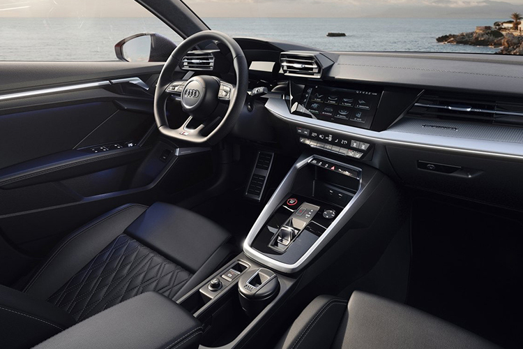 Audi S3 2021 sistema de infoentretenimiento