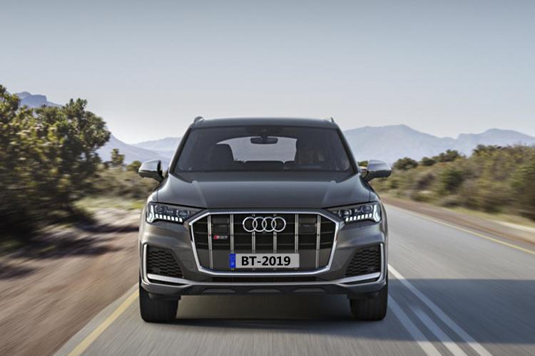 Audi SQ7 híbrido motor v8