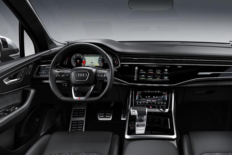 Audi SQ7 híbrido sistema de infoentretenimiento