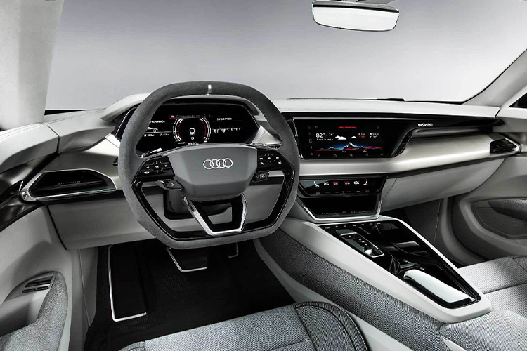 Audi e-tron GT RS diseño interior
