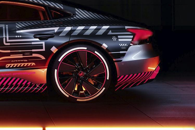 Audi e-tron GT RS rendimiento