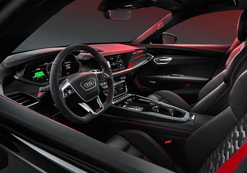 Audi e-tron GT ofrece el máximo desempeño interior comodidad
