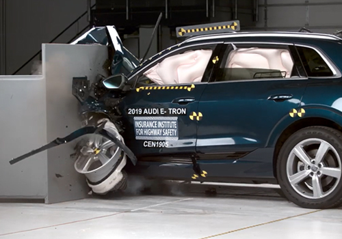 Audi e-tron Top Safety Pick Plus