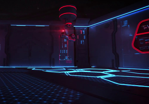 Audi e-tron experiencia en sala de hiperrealidad escenarios