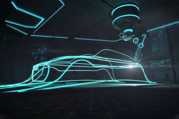 Audi e-tron experiencia en sala de hiperrealidad vehiculos electricos
