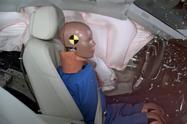 Audi e-tron maxima seguridad NCAP y IIHS