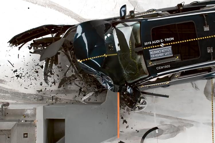 Audi e-tron pruebas de seguridad