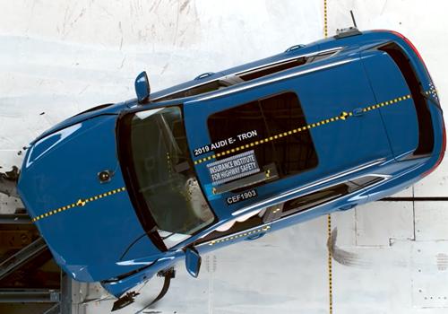 Audi e-tron sistema en Seguridad rendimiento baterias