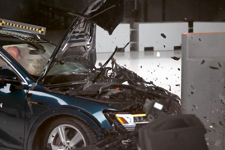 Audi e-tron vehiculo electrico más seguro del mundo