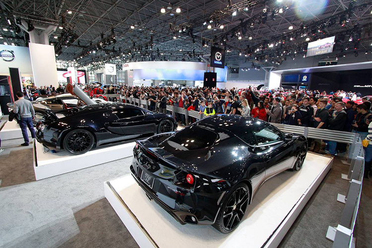 Auto Show de Nueva York 2020 exhibición anual