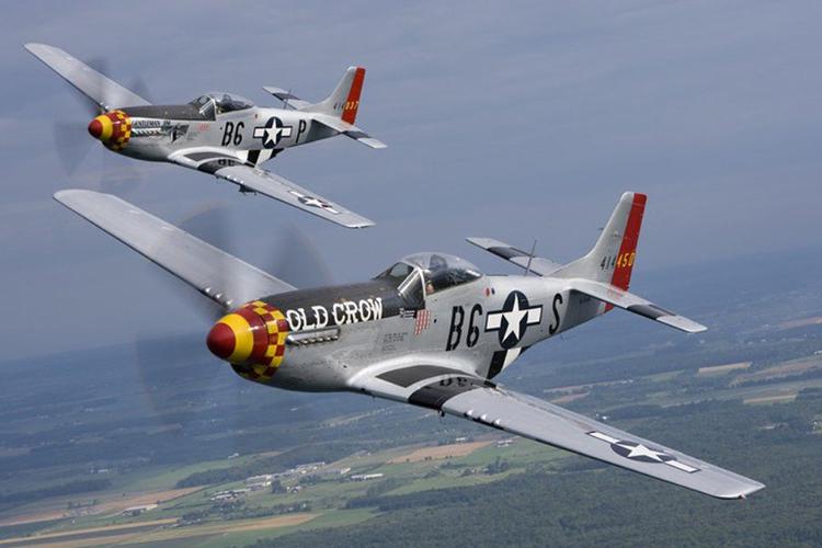 Aviones Old Crow