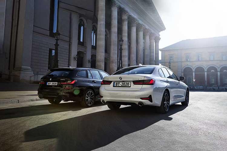 BMW 33e XDrive Touring híbrido baterías de 12 kWh