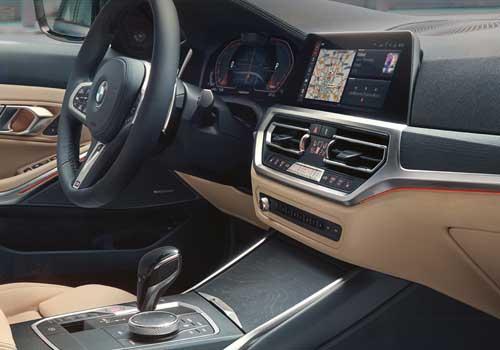 BMW 33e XDrive Touring híbrido sistema de infoentretenimiento