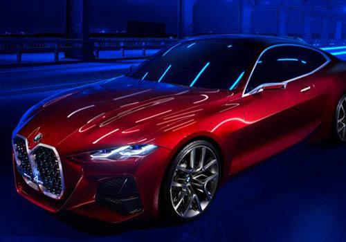 BMW Concept 4 coupé concept car