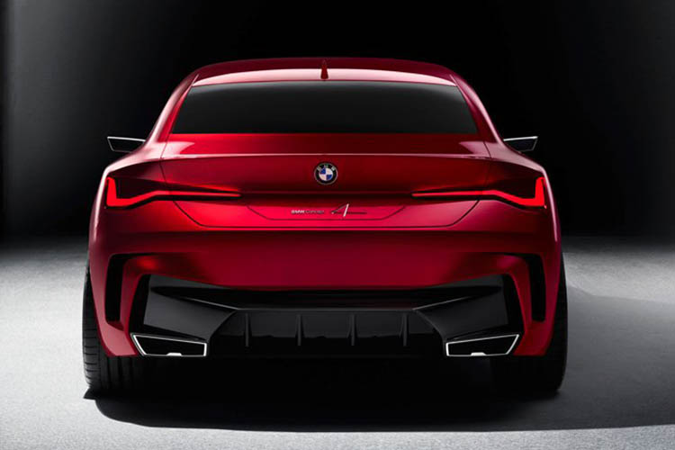 BMW Concept 4 herencia serie 4
