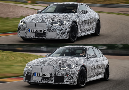 BMW M3 berlina y M4 Coupé rediseñado