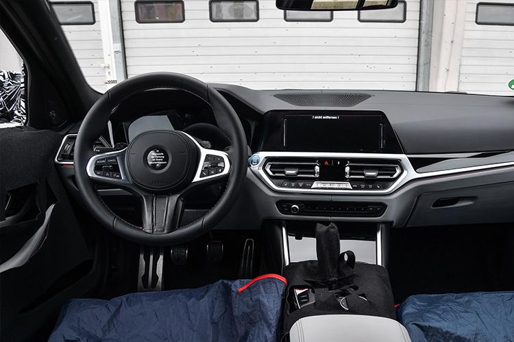 BMW M3 berlina y M4 Coupé sistema de infoentretenimiento