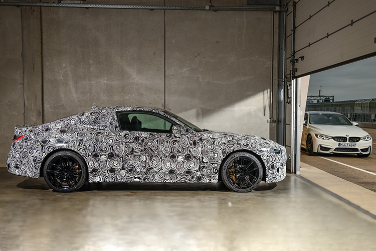 BMW M3 berlina y M4 Coupé tamaño