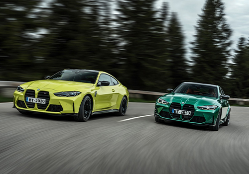 BMW M3 y M4 2021 de Tracción trasera e integral