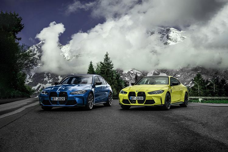 BMW M3 y M4 2021 desempeño