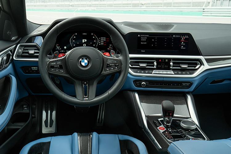 BMW M3 y M4 2021 interior