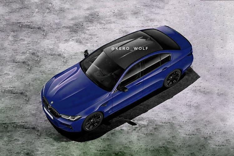 BMW M5 2021 fotos filtradas sin camuflaje antes de su Presentación Oficial diseño