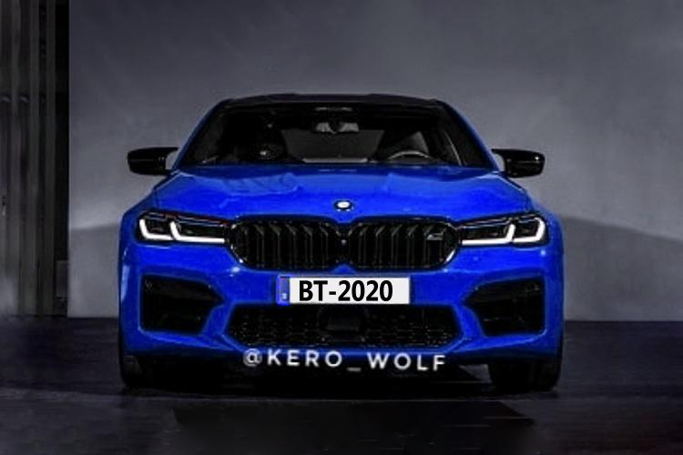 BMW M5 2021 fotos filtradas sin camuflaje antes de su Presentación Oficial