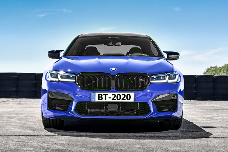 BMW M5 2021 opciones de motor