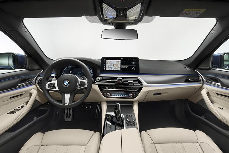 BMW M5 2024 Sistema de infoentretenimiento