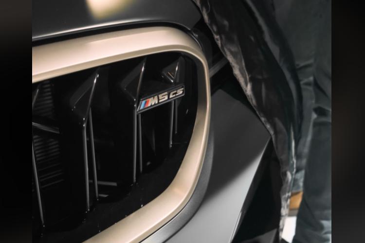 BMW M5 CS 2021 nueva variante más deportiva con potencia de 635 hp