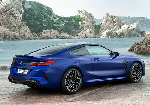 BMW M8 con 4 versiones disponibles, dos convertibles y dos competition