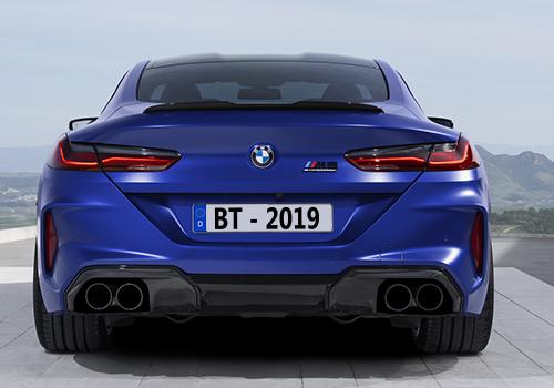 BMW M8 con tracción total