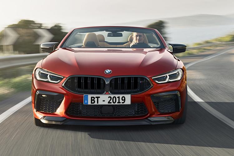 BMW M8 nuevo modelo en la serie M vehiculo convertible