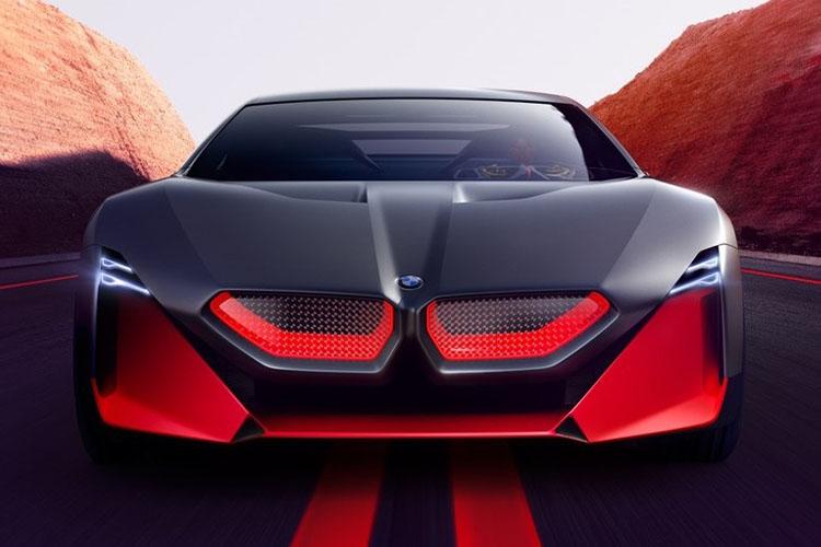 BMW Vision M Next hasta 100 kilómetros de autonomía en modo boost+