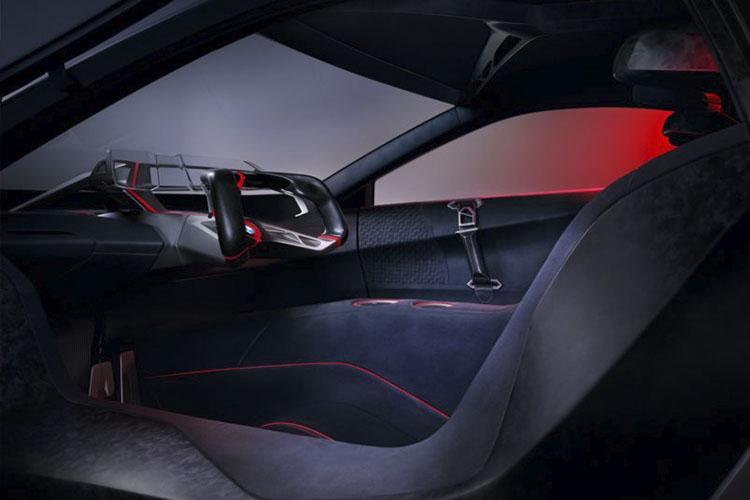 BMW Vision M Next hasta 100 kilómetros de autonomía interior tecnológico