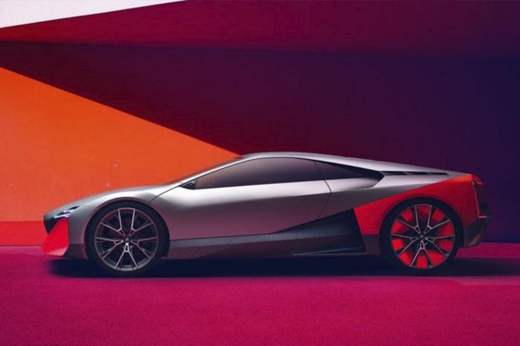 vehiculo futurista lineas geométricas