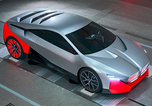 BMW Vision M Next velocidad máxima 300 kilómetros por hora